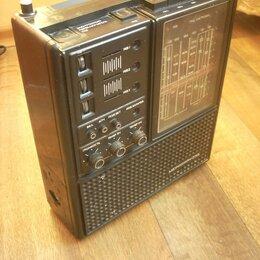 Радиоприемники - Радиоприемник Меридиан 235 (рабочий), СССР, 0