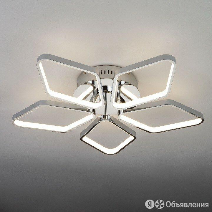 Потолочная люстра Eurosvet Kalifea 90081/5 хром 65W по цене 21756₽ - Люстры и потолочные светильники, фото 0