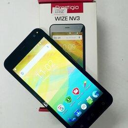 Мобильные телефоны - Смартфон Prestigio Wize NV3 PSP3537 0.5ГБ 8ГБ Green зеленый, 0