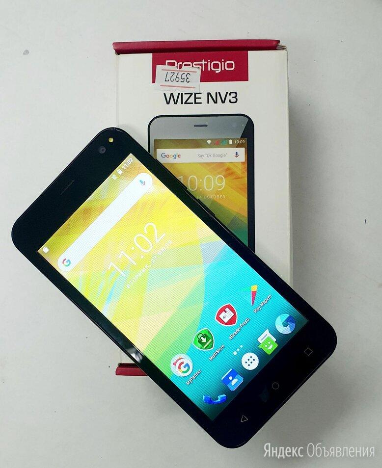 Смартфон Prestigio Wize NV3 PSP3537 0.5ГБ 8ГБ Green зеленый по цене 2490₽ - Мобильные телефоны, фото 0