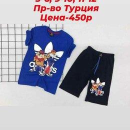 Комплекты и форма - Костюм на мальчика футболка шорты турецкий 5-6 , 9-10, 11-12 лет, 0