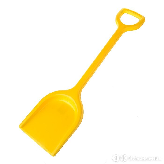 Лопата пластмассовая 57см У465 (цен за 1 штуку) по цене 80₽ - Лопаты, фото 0