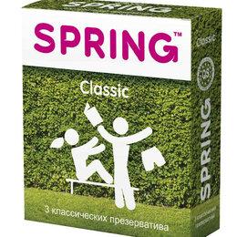 Презервативы - Классические презервативы SPRING CLASSIC - 3 шт., 0