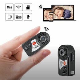 Камеры видеонаблюдения - Камера Беспроводная Q7 с ночной IR-съёмкой, 0