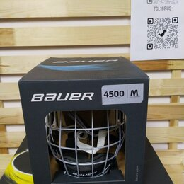Защита и экипировка -    Шлем Bauer 4500 Сombo   , 0
