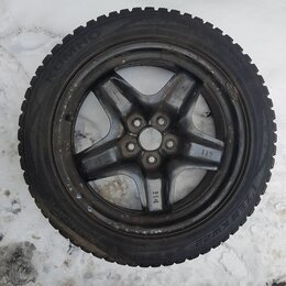 Шины, диски и комплектующие - Шина KUMHO KW22 215/50/17 зима, шипы, 0