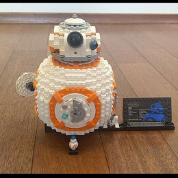 Конструкторы - Лего звёздные войны увеличенный бб8, 0