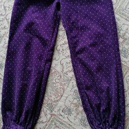 Брюки -  Вельветовые брюки для девочки 7-8 лет , 0