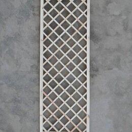 Заборчики, сетки и бордюрные ленты - Решетка садовая ячейка 100мм, 0