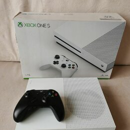 Игровые приставки - Консоль Microsoft Xbox S 1тб, 0