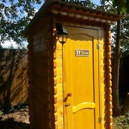 Биотуалеты - Деревянный туалет для дачи с доставкой, 0