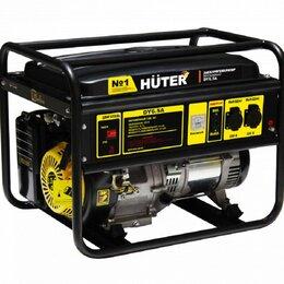 Электрогенераторы и станции - Электрогенератор DY6.5A Huter, 0