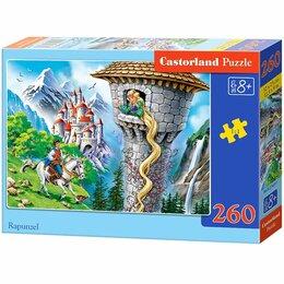 Развивающие игрушки - Пазлы  260 элем. Castorland  Midi Рапунциль., 0