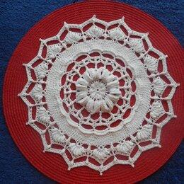 Скатерти и салфетки - Текстурная салфетка крючком, 0