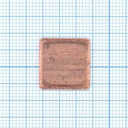 Термопаста - Медная термопрокладка 0.8мм - 1шт., 0
