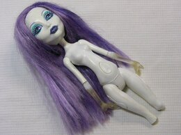 Куклы и пупсы - Кукла Monster High Спектра  на запчасти, 0