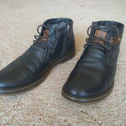 Ботинки - Ботинки Sairus 43 размер, натуральная кожа и мех, 0