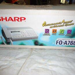 Факсы - Факс Sharp FO-A760 - на 10 листов а4, 0