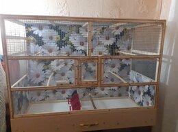 Клетки и домики - Вольер большой для попугаев, 0
