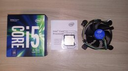 Процессоры (CPU) - Intel Core i5-7400 + Asus H110M-C, 0