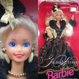 Куклы и пупсы - Барби Новогодняя, Golden Winter, 1993 год, 0