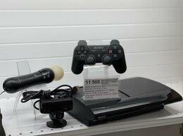 Игровые приставки - PlayStation 3 Super Slim+ PS MOVE + Геймпад + Диск, 0