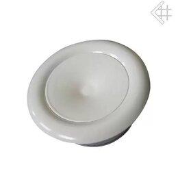 Товары для электромонтажа - Анемостат белый д.100, 0
