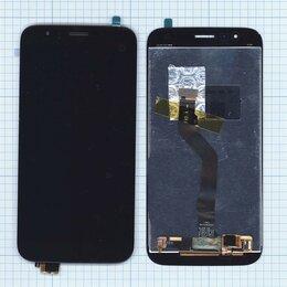 Дисплеи и тачскрины - Модуль (матрица + тачскрин) для Huawei G8 черный, 0