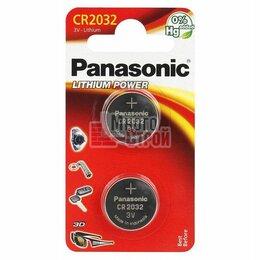 Батарейки - Батарейка Panasonic СR 2032 EP Japan 1шт/бл, 0