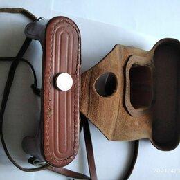 Сумки и чехлы для фото- и видеотехники - Футляр для фотоаппарата ФЭД натуральная кожа отличное состояние, 0