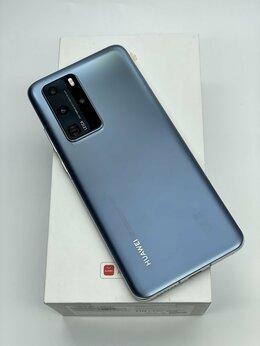 Мобильные телефоны - Huawei P40 Pro 8/256GB Мерцающий серебристый, 0