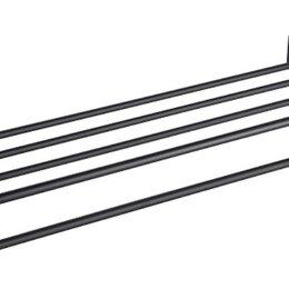 Полки, стойки, этажерки - Полка Timo Selene Black 12058/03 для полотенец, 0