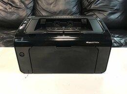 Принтеры и МФУ - Принтер лазерный c WiFi HP p1102w, 0