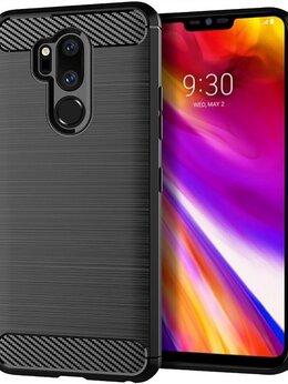 Чехлы - Чехол для LG G7 ThinQ (G7+ ThinQ) цвет Black…, 0