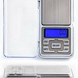 Весы - Портативные электронные весы Pocket Scale MH-200, 0