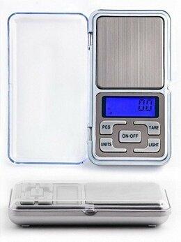 Весы ювелирные - Портативные электронные весы Pocket Scale MH-200, 0