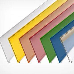 Расходные материалы - Ценникодержатель полочный самоклеющийся DBR39 длина 1000 мм. , 0