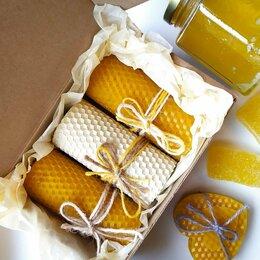 Сувениры - Свечи ручной работы с маслом ванили, 0