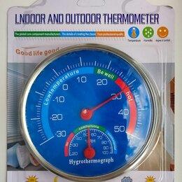 Метеостанции, термометры, барометры - Механический термогигрометр, 0
