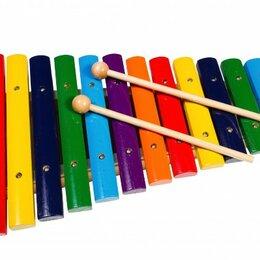 Ударные установки и инструменты - FLIGHT FX-12С Ксилофон диатонический, 12 нот, палочки в комплекте, 0