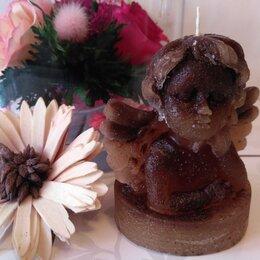 Декоративные свечи - Свеча Ангел - Кофейная , 0