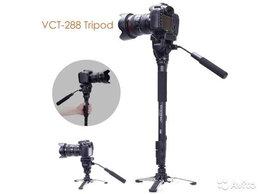 Штативы и моноподы - Штатив-Монопод с Видеоголовой Yunteng VCT-288, 0