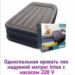 Кровати - Кровать новая односпальная со встроенным электр, 0