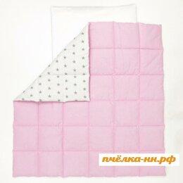 Одеяла - Одеяло стеганое розовое 108 х 108 см LoveBabyToys, 0