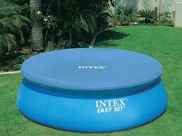 Тенты и подстилки - Тент для надувного бассейна 366 см, круглый, Intex, 0