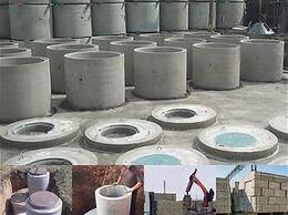 Железобетонные изделия - Кольца бетонные армированные и комплетующие к…, 0