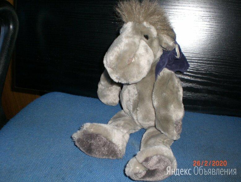 Мягкая игрушка ослик с рюкзаком по цене 500₽ - Мягкие игрушки, фото 0