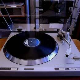 Проигрыватели виниловых дисков - Проигрыватель винила PIONEER PL-380A, 0