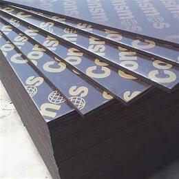 Древесно-плитные материалы - Ламинированная фанера 1220х2440х21мм Стандарт, 0