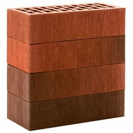 Кирпич - Лицевой керамический кирпич ЛСР Красный Флэш…, 0